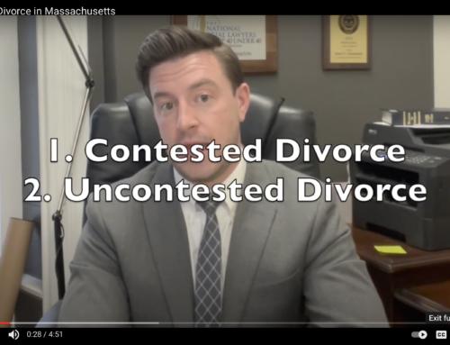 Types of Divorce in Massachusetts