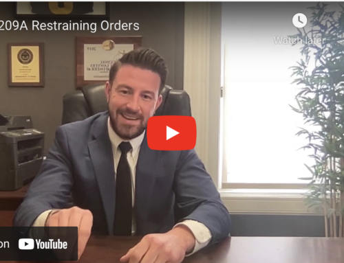 209A Restraining Orders